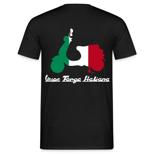 logo vespe targa italiana 2 - Männer T-Shirt