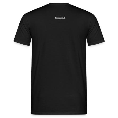 kaffeehaus logo weiss - Männer T-Shirt