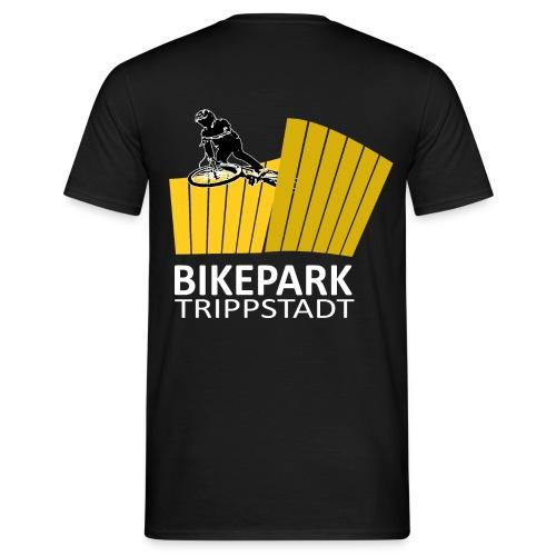 Classic groß weiß gelb - Männer T-Shirt