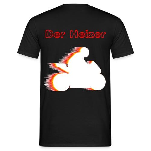 derheizer weiss - Männer T-Shirt