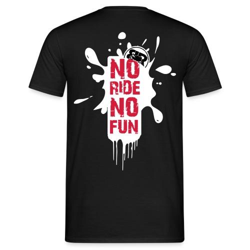 BRProd's NoRideNoFun - T-shirt Homme