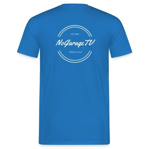NoGarageTV 4 - Herre-T-shirt