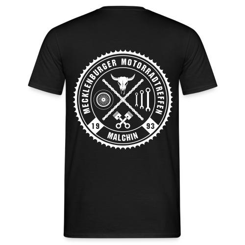 Logo Mecklenburger Motorradtreffen - Männer T-Shirt