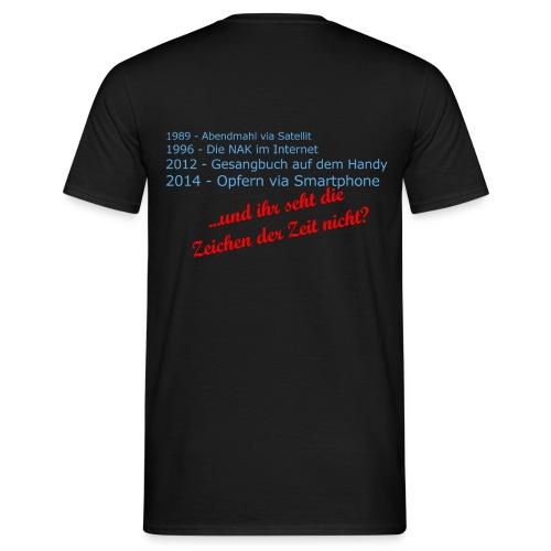Zeichen der Zeit png - Männer T-Shirt