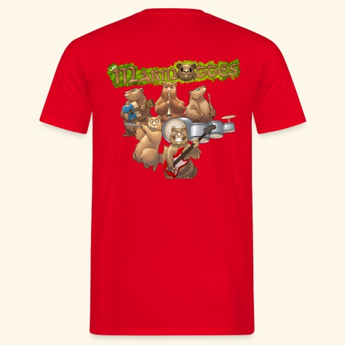 Tshirt groupe complet (dos) - T-shirt Homme