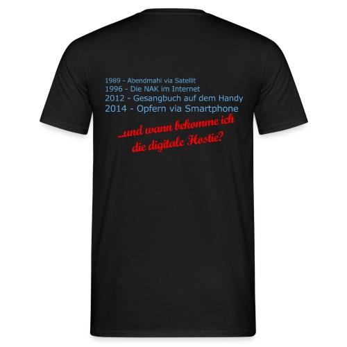 Digitale Hostie png - Männer T-Shirt