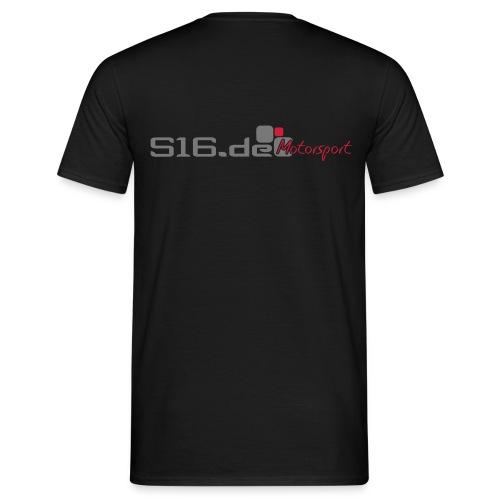 s16 logo - Männer T-Shirt