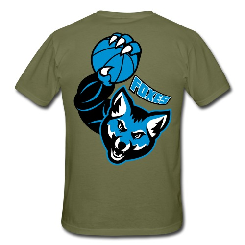 Foxes basketball - T-shirt Homme