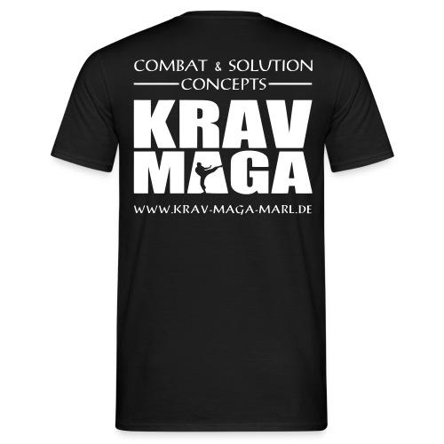 logowebadresse2weiss - Männer T-Shirt