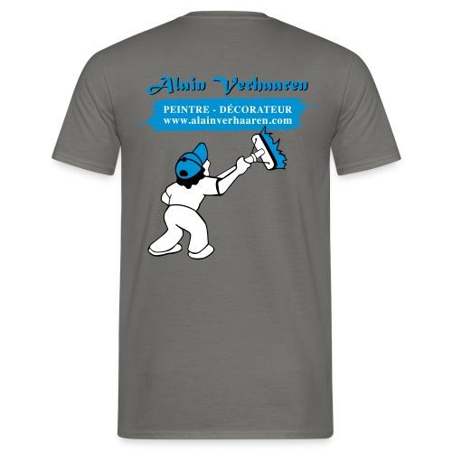 tshirt AV (verso) - 2 - T-shirt Homme