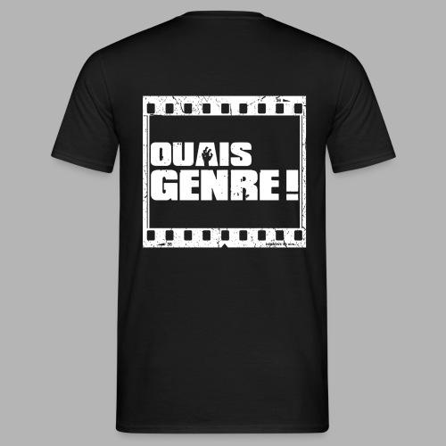 Ouais Genre Movie White png - T-shirt Homme
