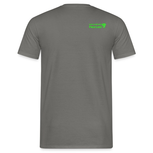 poco loco creations green - Men's T-Shirt