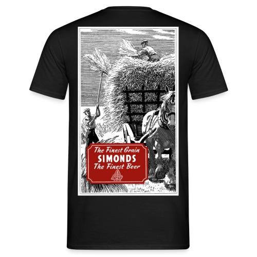 H & G Simonds' Brewery Reading Haymaking - Men's T-Shirt