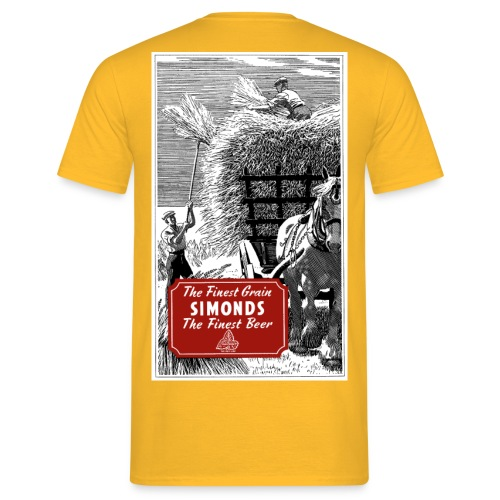 H & G Simonds' Brewery Reading Haymaking - Men's T-Shirt