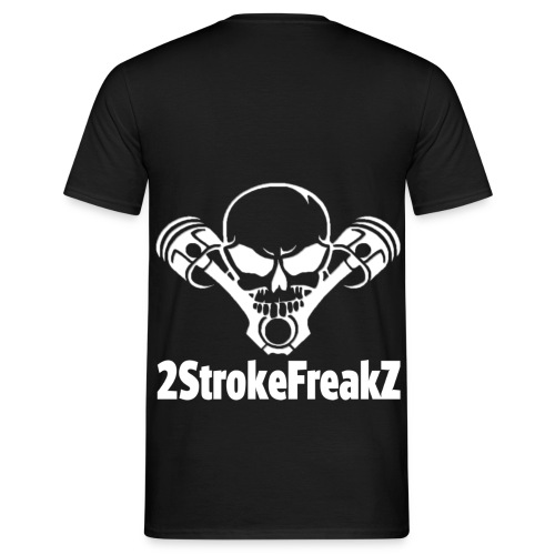 2StrokeFreakZ Logo - Männer T-Shirt