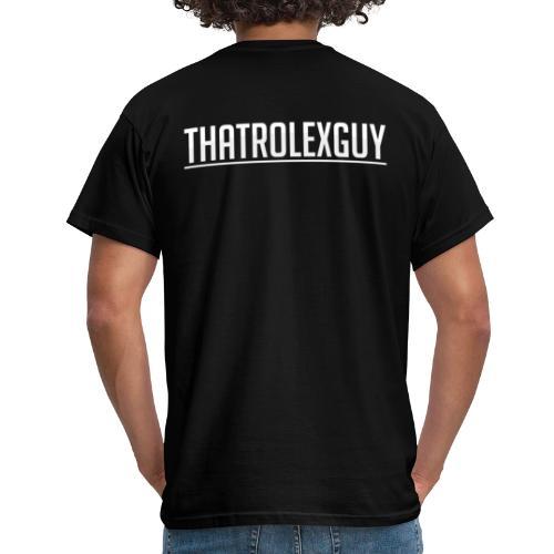 ThatRolexGuy Original: Black - T-shirt herr