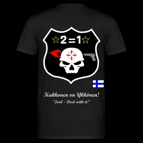 Paitalogo selkä PAREMPI VÄRILLINEN png - Miesten t-paita