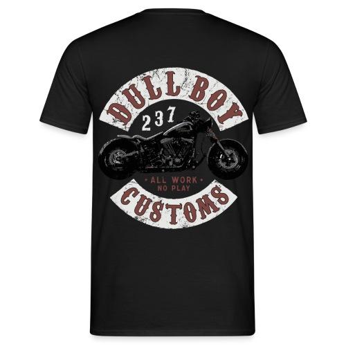 Dull Boy Customs patch - T-skjorte for menn
