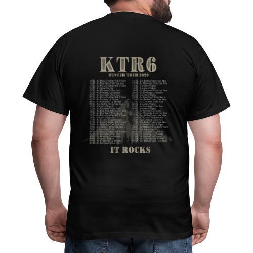 KTR6 - Winter Tour 2020 - T-shirt Homme