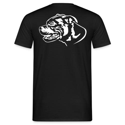 staffbullblack - Männer T-Shirt
