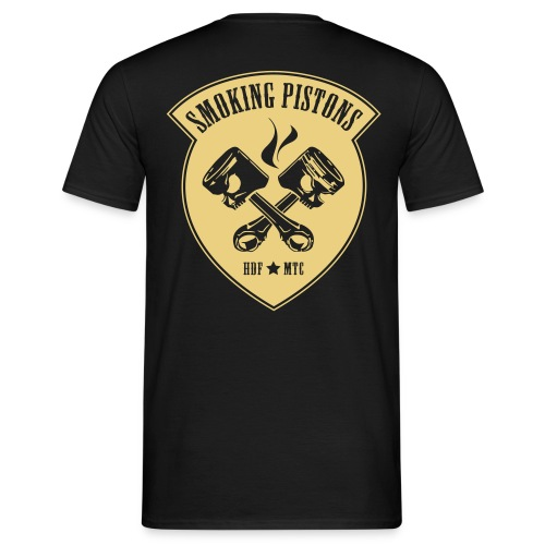 Smoking Pistons 1 - Mannen T-shirt