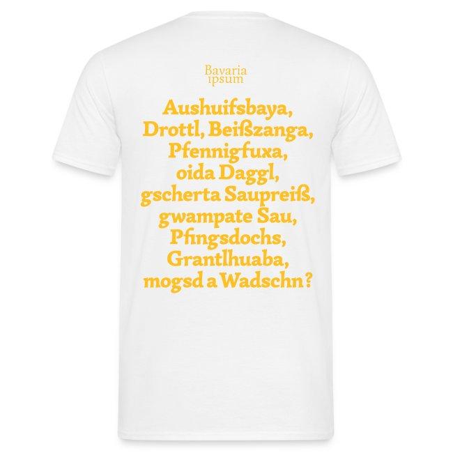 Bayrische Schimpfwörter Nr.1