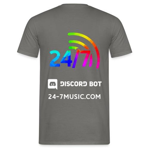 basic back design - Men's T-Shirt