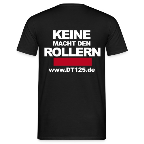 roller black - Männer T-Shirt