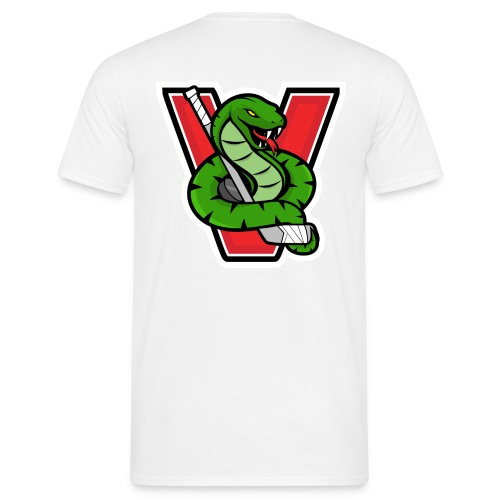 Vipers New Logo no bg - Männer T-Shirt