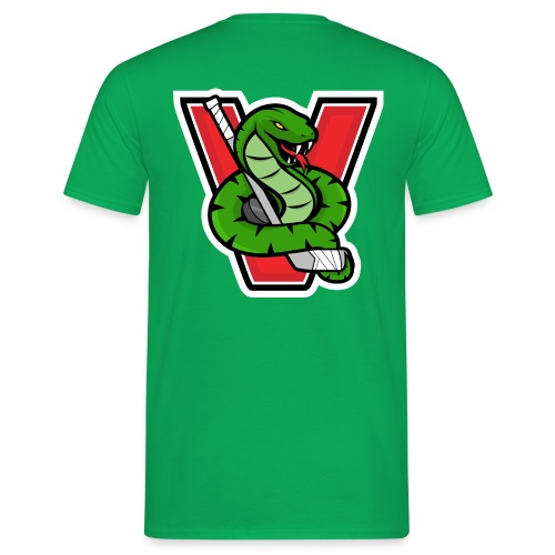 Vipers New Logo no bg - Männer T-Shirt
