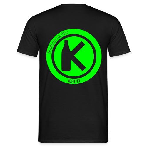 Keller Logo SW - Männer T-Shirt