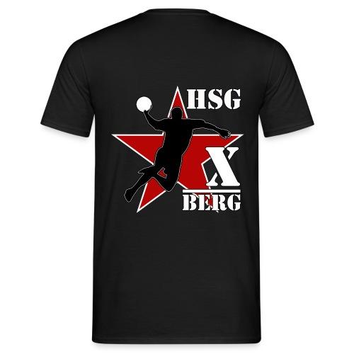 hsg druck x bergstern - Männer T-Shirt