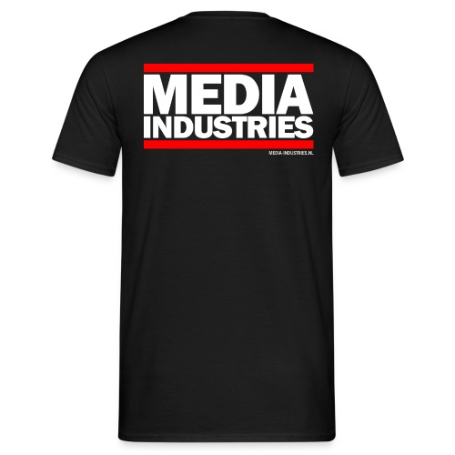 Media Industries Wit - Mannen T-shirt