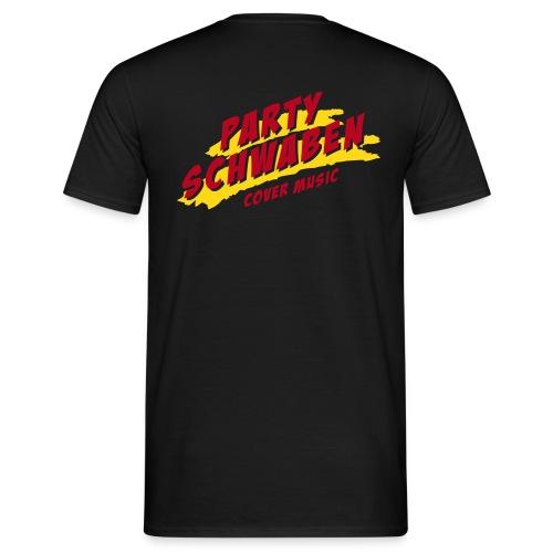 logopartyschwaben shirt pfade - Männer T-Shirt