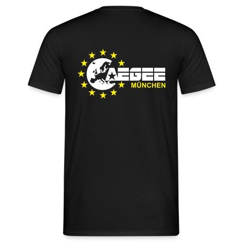 aegeemuenchenvector - Männer T-Shirt