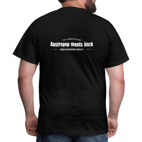 AMR Logo vintage back - Männer T-Shirt