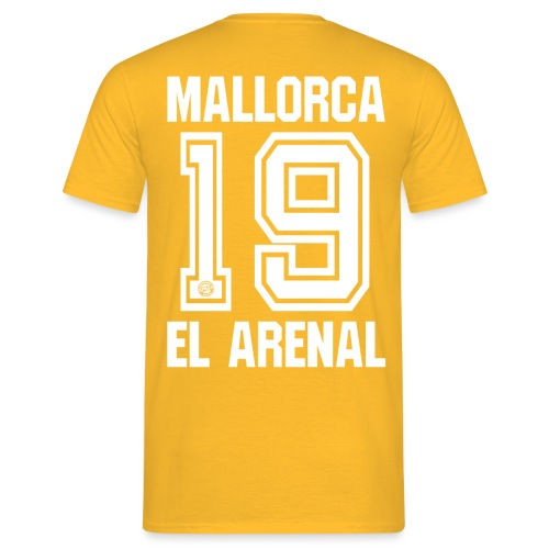 MALLORCA SHIRT 2019 - Malle Shirts - EL ARENAL 19 - Mannen T-shirt