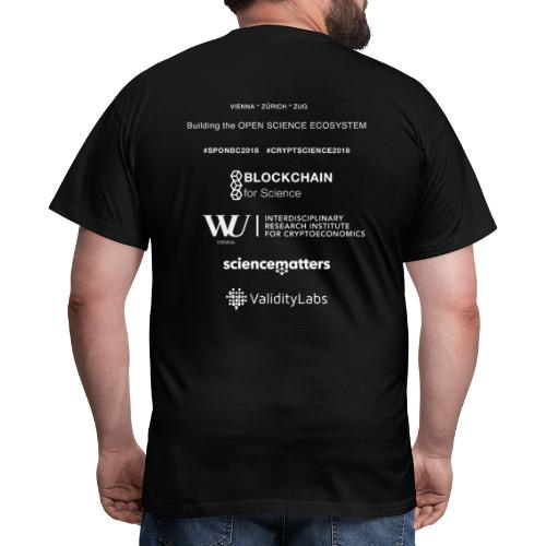SPONBC2018 CRYPTSCIENCE2018 - Men's T-Shirt
