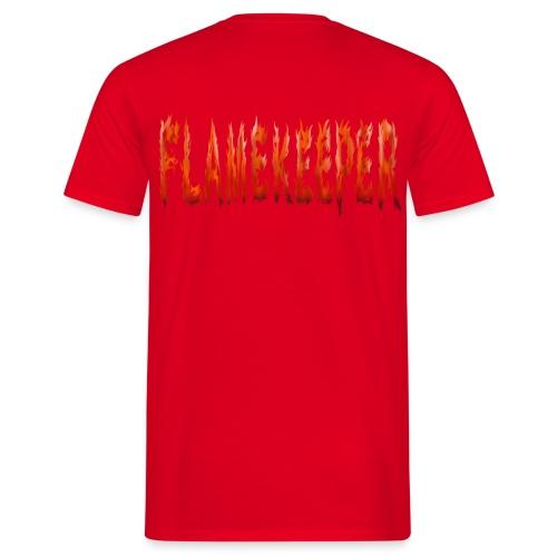 flamekeeper name logo - Mannen T-shirt