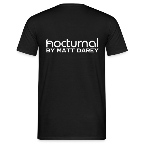 Nocturnal by Matt Darey White - Men's T-Shirt