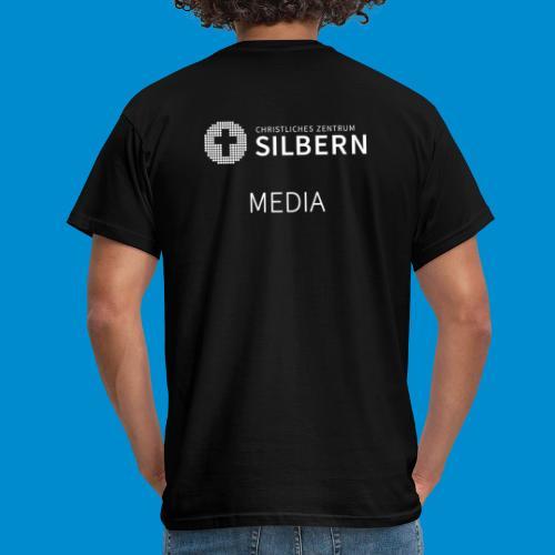 Silbern Media - Männer T-Shirt