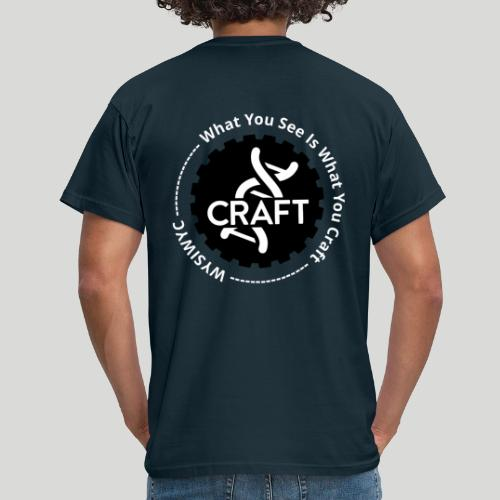 WYSIWYC - What You See Is What You Craft - Herre-T-shirt