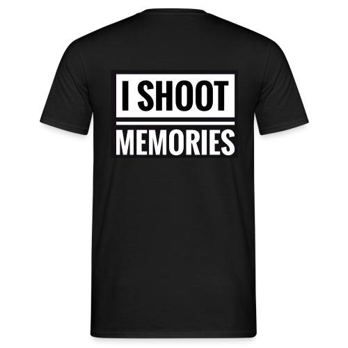 I SHOOT MEMORIES, BLACK EDITION - Herre-T-shirt