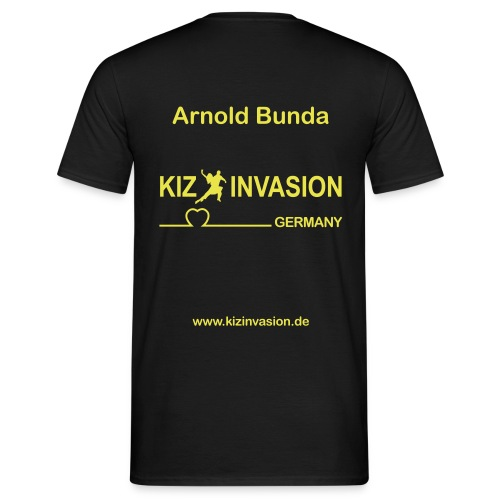 KizInvasionHinten ArnoldBunda - Männer T-Shirt