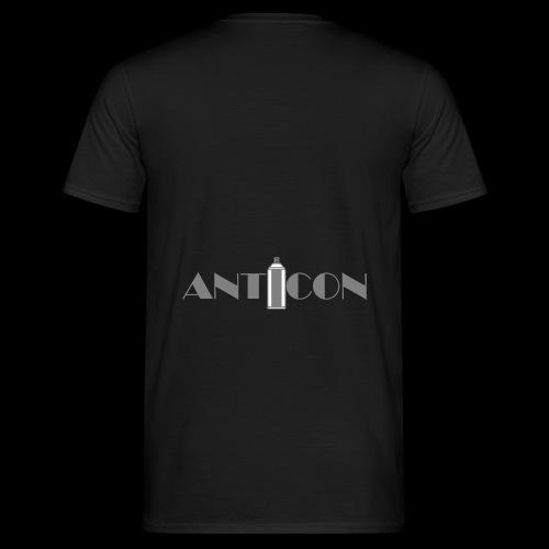 ANTICON A0 Gris Transparent - T-shirt Homme