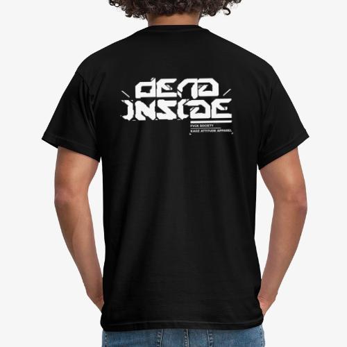 Dead Inside_fsociety collection - Männer T-Shirt