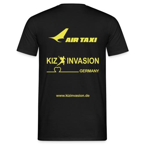KizInvasionHinten AirTaxi - Männer T-Shirt
