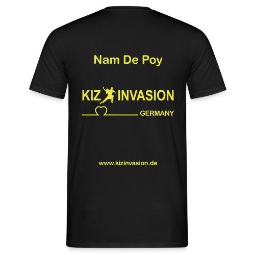 KizInvasionHinten NamDePoy - Männer T-Shirt