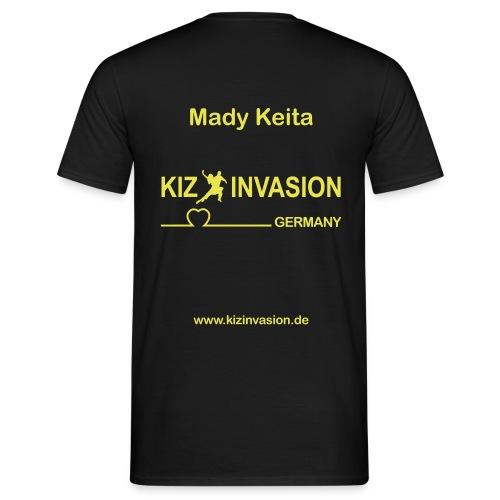 KizInvasionHinten MadyKeita - Männer T-Shirt