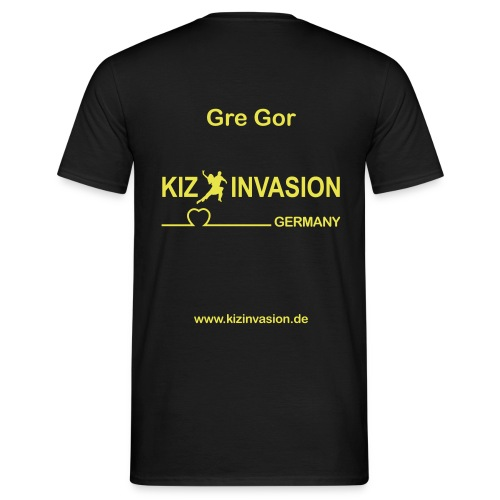 KizInvasionHinten GreGor - Männer T-Shirt